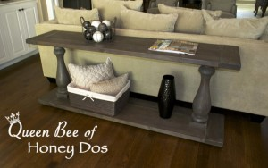 Weathered Gray Console