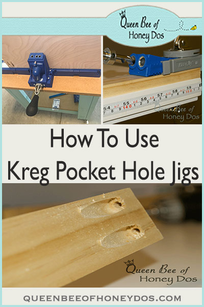 Kreg pocket hole jig makes joining wood quick and easy. Check out these 3 different systems that are available and a great demonstration for How To Use it for all your DIY, woodworking projects!