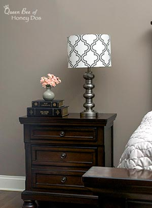 How to DIY a Lampshade Makeover - An easy upgrade on basic decor!