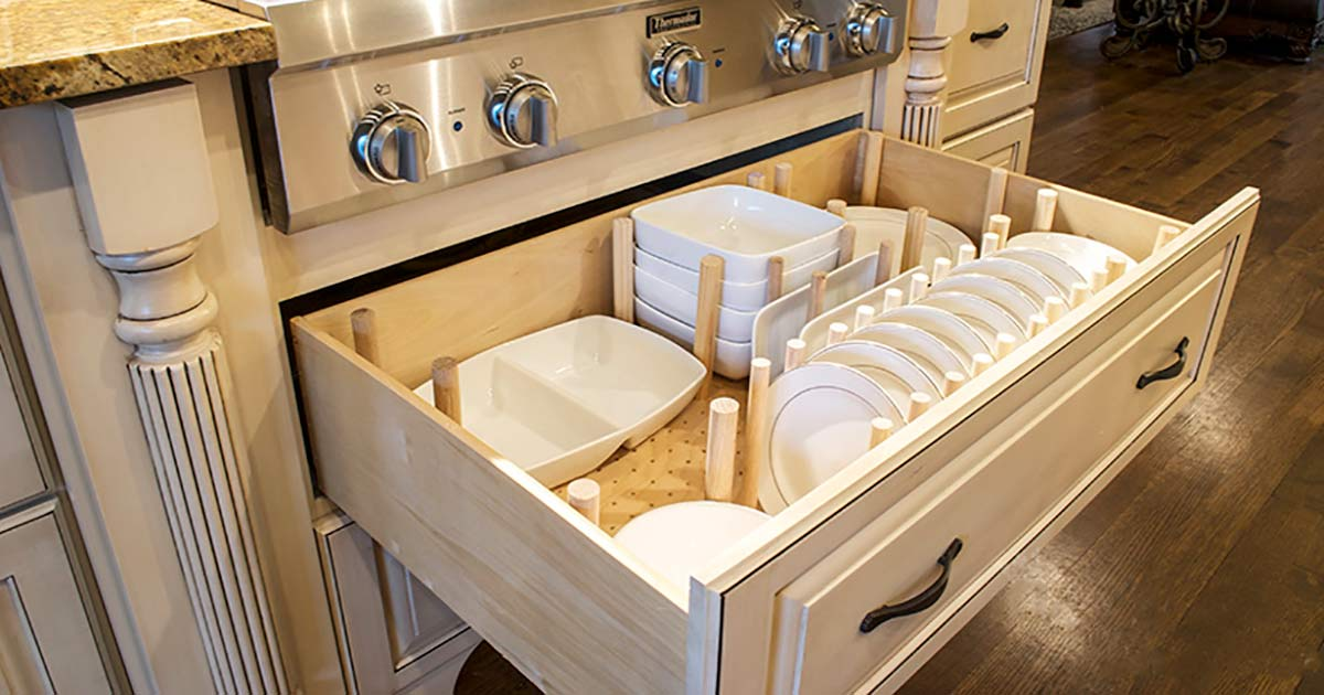 How To Dish Drawer Organizer Queen
