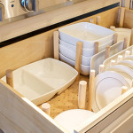 How To - Dish Drawer Organizer