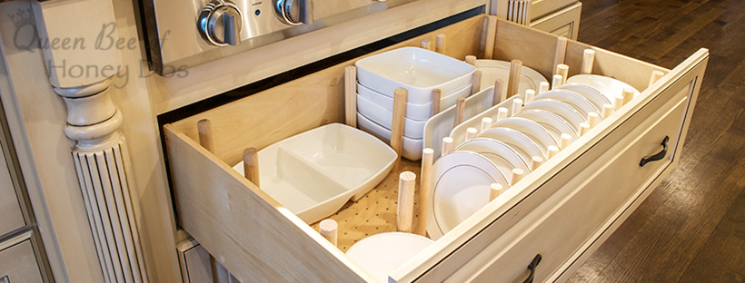 How To Dish Drawer Organizer Queen Bee Of Honey Dos