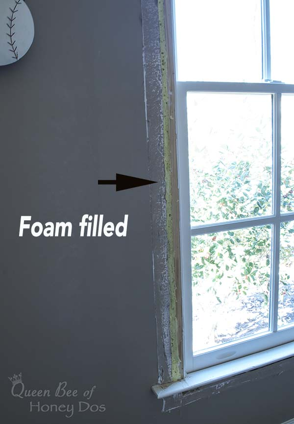 How to insulate drafty windows queen bee of honey dos for Window insulation