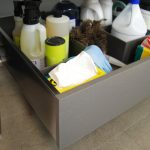 Cleaning Supplies' Storage Solution