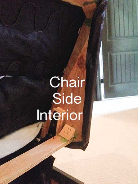 Reupholster Leather Chair -How To