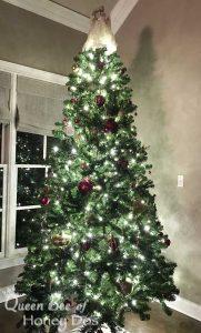 PRE-LIT CHRISTMAS TREE LIGHTS