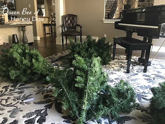 Pre-lit Christmas Tree Lights Repair/Replace • Queen Bee ...