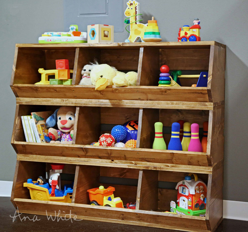 Kid's Storage Ideas