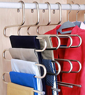 Space Saving Ideas for Clothes