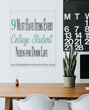9 Must Have Items Every College Student Needs