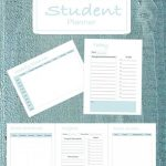 Free School Planner Printable  + $100 Back to School Giveaway!
