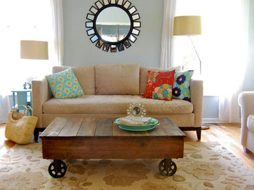 How to Make a Pallet Coffee Table