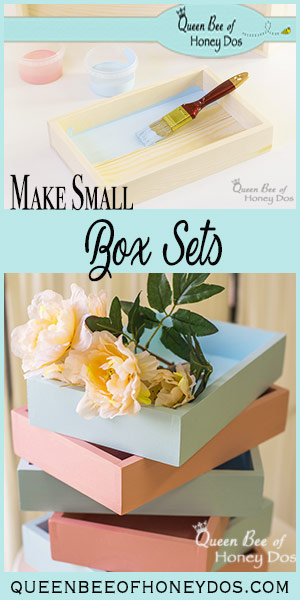 How To Make Wooden Box Sets