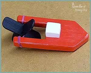 DIY Wooden Toy Boat - Toy Nostalgia