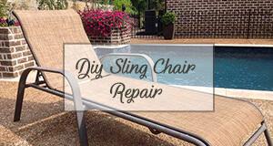 sling chaise repair
