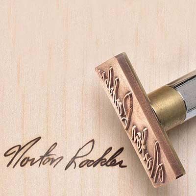 branding iron for wood