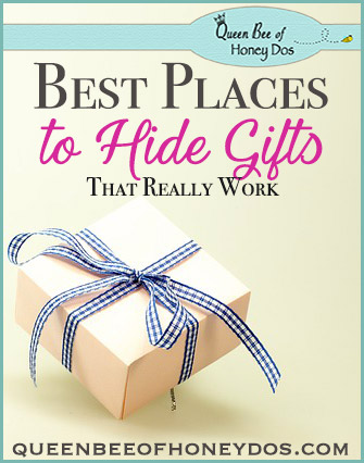 Best Places to Hide Christmas Gifts
