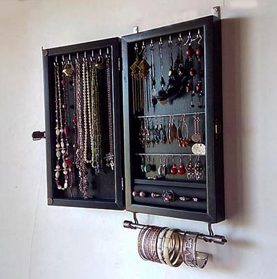 Storage and Organizing Home Products from Etsy - jewelry storage case