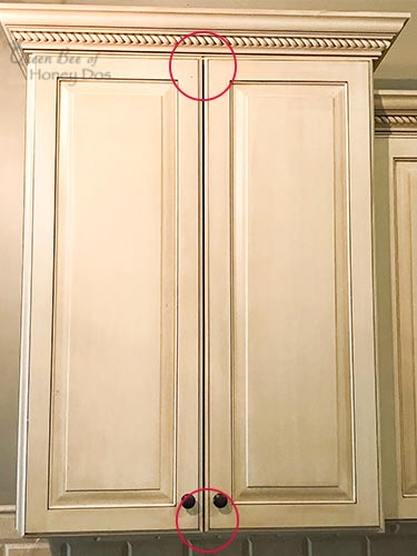 How to Align Cabinet Doors