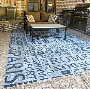 Easy to Clean Indoor Outdoor Rugs