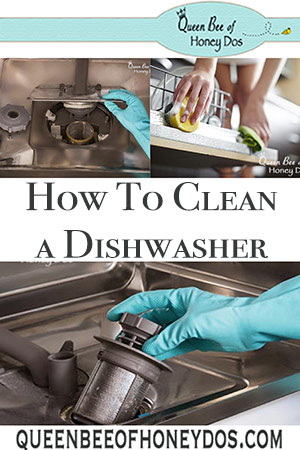 How To Clean a Dishwasher | DIY Appliance maintenance and housekeeping