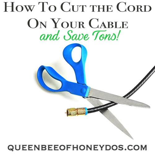 How To Cut the Cord on Your Cable Service and save tons! Start streaming today and ditch your old cable network with one of these low budget options!