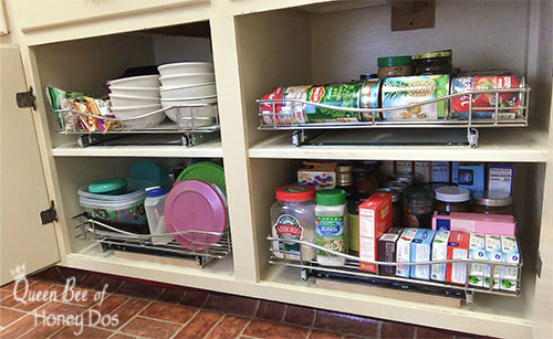Easy Way to Add Pull-Out Drawers to Bottom Cabinets