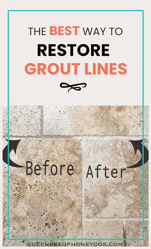 Make Grout and Tile Look Like New