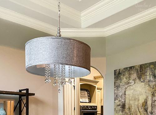upgrade drum chandelier