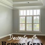 repose gray paint on walls
