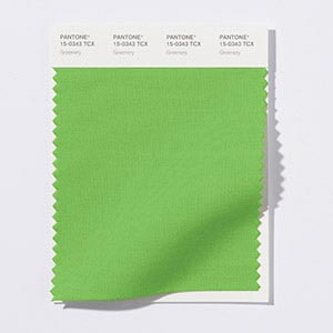 Pantone's 2017 color of the year - greenery.