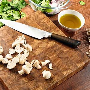 cutting board butcher block top