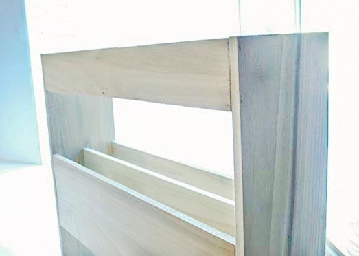 top view cutting board organizer